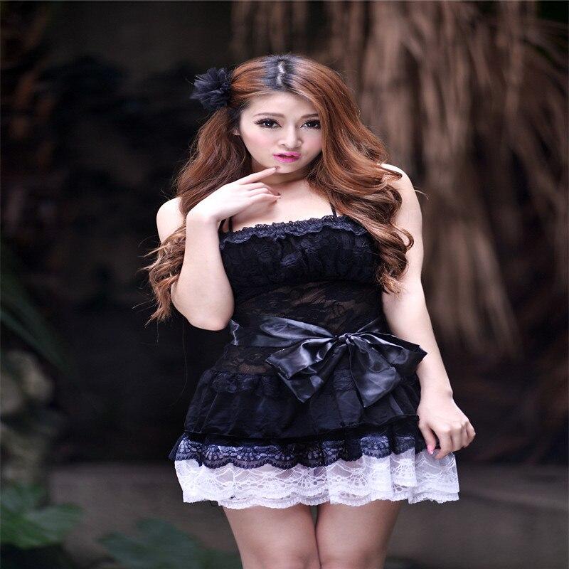 Сексуальное нижнее белье Хэллоуин игры носить горничной/горничной Барби платье принцессы ...