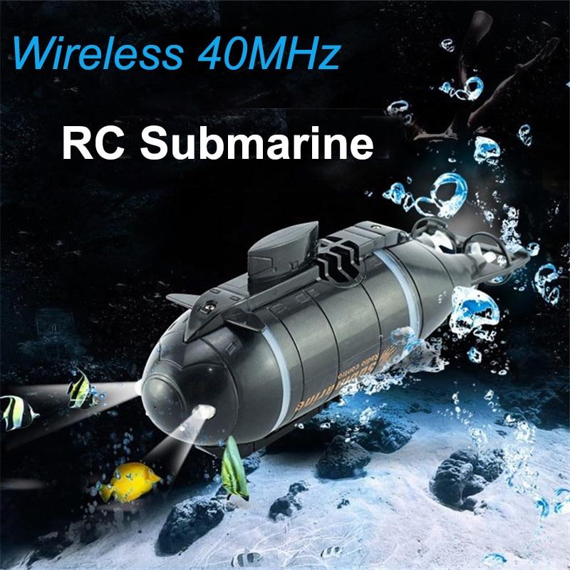 Sammeln & Seltenes Mini Rc Submarine Speed Racing Boote Outdoor Abenteuer Pigboat Modell U-boot 40 Mhz Fernbedienung Boot Spielzeug Geschenk Für Kinder Lange Lebensdauer Fernbedienung Spielzeug