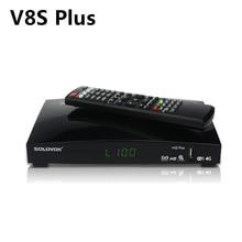 V8Sプラス衛星放送受信機 + 1 年ヨーロッパcccam clines DVB S2 MPEG 4 1080 1080pフルhdデジタルtvチューナー受容体vs V8 スーパーV7