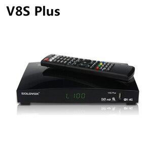 Image 1 - V8S Plus Satellietontvanger + 1 Jaar Europa Cccam Clines DVB S2 MPEG 4 1080P Full Hd Digitale Tv Tuner Receptor vs V8 Super V7