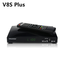 V8S Plus Satellite Receiver + 1 ปีCccam Clines DVB S2 MPEG 4 1080P Full HD Digital TV Tuner Receptor vs V8 Super V7