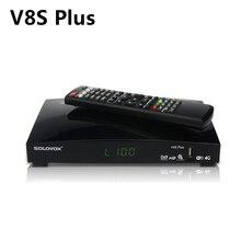 V8S Plus odbiornik satelitarny + 1 rok europa Cccam Clines DVB S2 MPEG 4 1080P Full cyfrowa telewizja HD Tuner receptoras postawy polityczne w V8 super V7