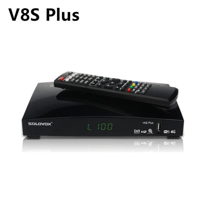 V8S Plus Đầu Thu Vệ Tinh + Tặng 1 Năm Châu Âu Cccam Clines DVB S2 MPEG 4 1080, Ghi Hình Cực Nét, Giá Rẻ Nhất BH UY TÍN Bởi TECH ONE Bộ Giải Mã Truyền Hình Kỹ Thuật Thụ Thể vs V8 Siêu V7