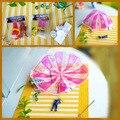 1 unid lanzar mano niños mini juego del paracaídas soldado deportes al aire libre juguetes de los niños anyoutdoor