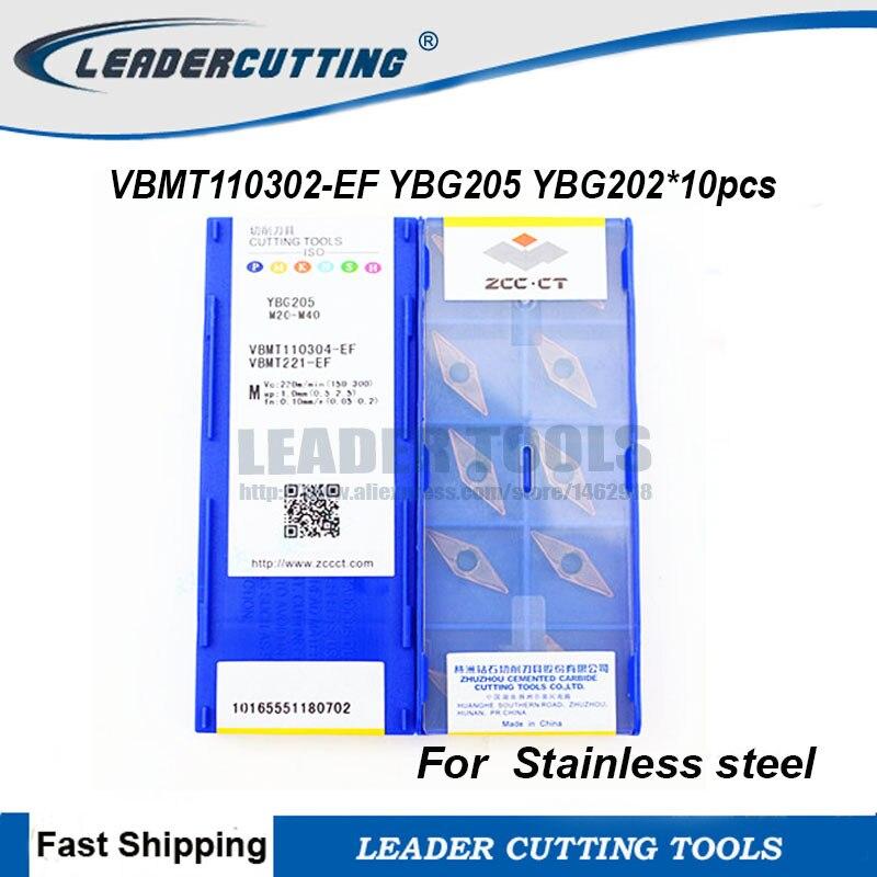 10pcs Tungaloy VBMT110302-PS NS530 VBMT220.5 PS Carbide Insert NEW Free Shipping