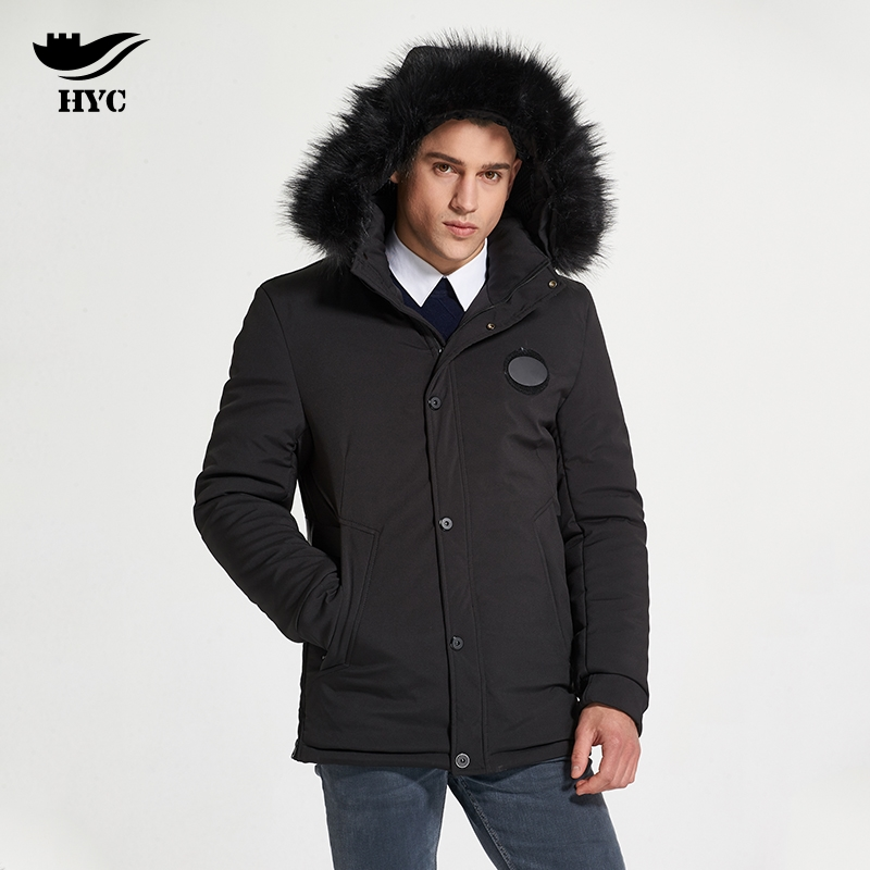 HAI YU CHENG Winter Parka Men Puffer Jacket Coat Male Thick Trench Luxury Brand Men Windbreaker Snow Wear Parka Jacket L-188-07 cheng yu edwin tsai the syntax of wh questions in vietnamese