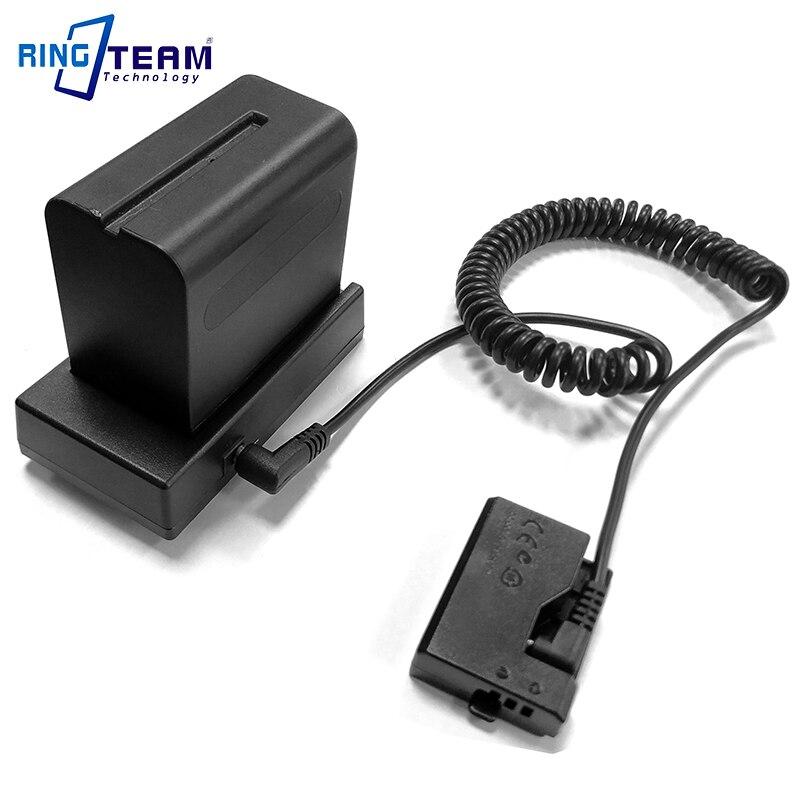 NP-F970 F750 Batterie monture pour support Plaque avec DRE10 Coupleur CC pour Canon EOS 1100D 1200D 1300D 1500D 3000D 4000D X50 Rebelles T3 T5
