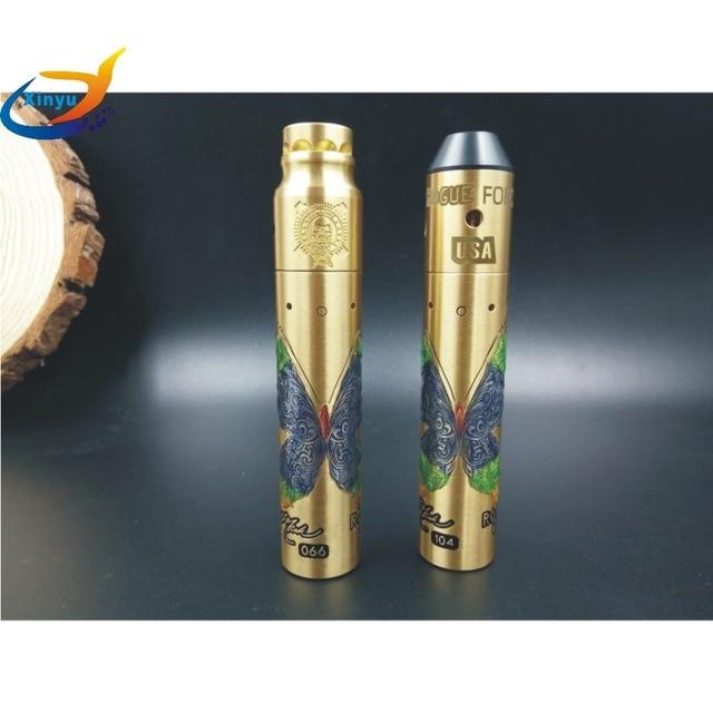 HOT ROGUE MOD kit pour 18650 batterie 510 fil cigarette électronique furtif mech mods mécaniques matériel laiton vaporisateur stylo