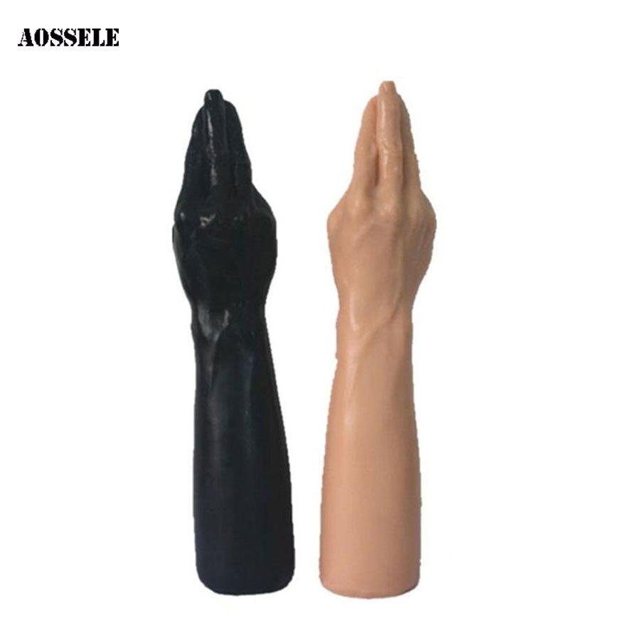 Ventouse godes doigt pénis Super énorme gros gode jouets sexuels pour les femmes bras gode femelle Masturbation bite pour les femmes jouets érotiques