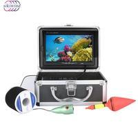 Original 20M/30M 1000tvl Underwater Fishing Video Camera Kit 6 PCS LED Lights with 7 Inch Monitor Under Water Fishing Finder
