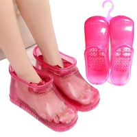 Foot Massage care Bath Boots Household Relaxation Slipper Shoes Feet Care Hot Compress Foot Soak Theorapy Massage Acupoint Sole