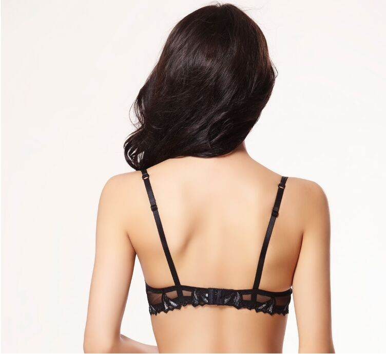Free shipping Ultrathin embroidery lace bra bra brief sets women bra set sexy bra set women underwear set 19
