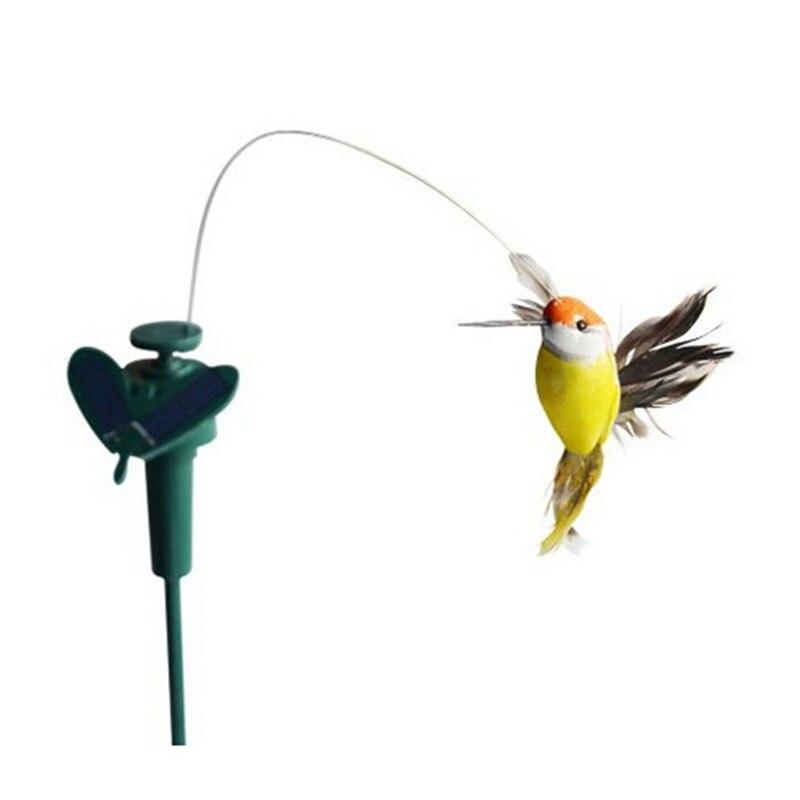 LeadingStar Lustige Solar Spielzeug Fliegen Flatternde Kolibri Fliegen Angetrieben Vögel Gelegentliche Farbe Für Garten Dekoration Heißer verkauf