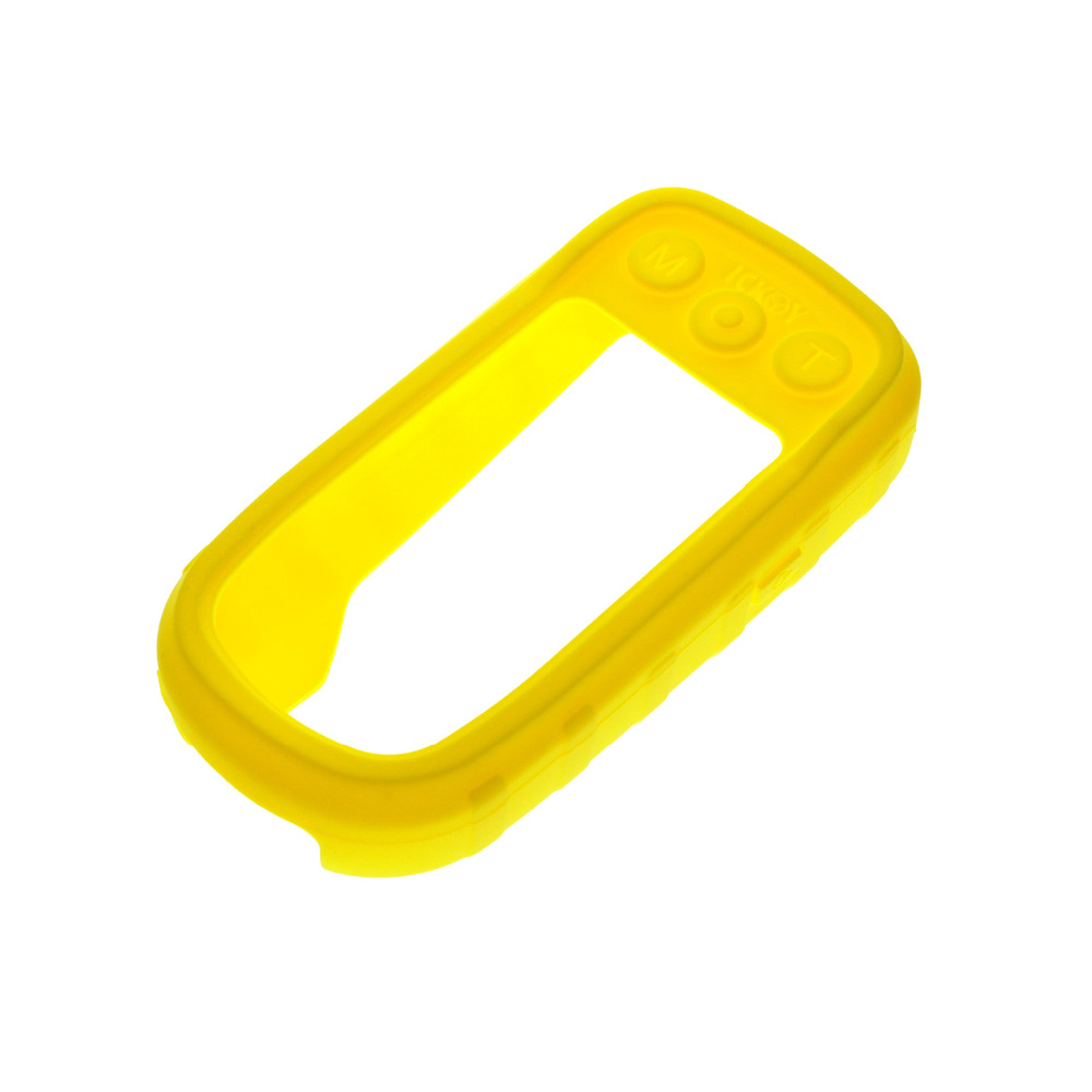 Soft Silicone Protective Cover Protect Yellow Case Skin for <font><b>Handheld</b></font> <font><b>GPS</b></font> <font><b>Garmin</b></font> Alpha 100 Alpah100 Accessories image