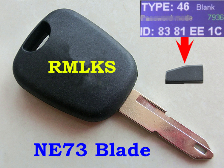 rmlks id46 transponder key pcf7936 chip ne73 blade fit for. Black Bedroom Furniture Sets. Home Design Ideas