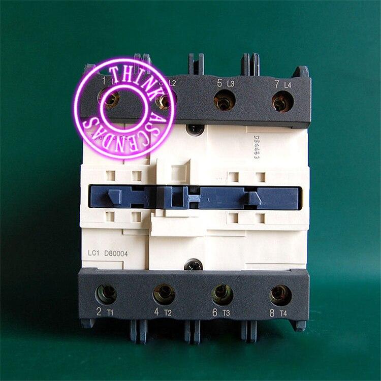 TeSys D Contactor LC1D80004B7 24V / LC1D80004C7 32V / LC1D80004CC7 36V / LC1D80004D7 42V / LC1D80004E7 48V / LC1D80004EE7 60V AC цены