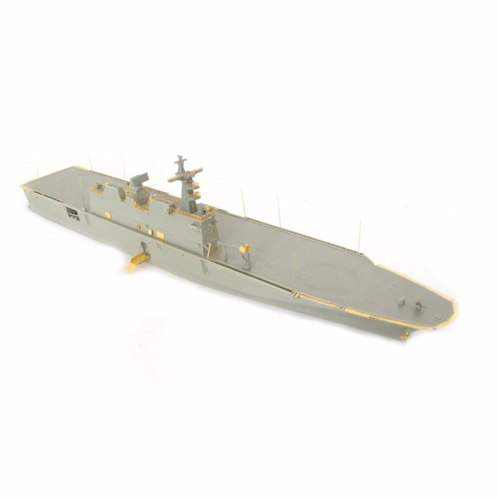 OHS Orange Hobby N07012220 1/700 ROKS LPH Dokdo Batalla militar Ensamblaje de barcos de batalla Escala Kits de construcción de modelos de barcos militares oh