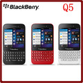 Q5 Оригинальный Разблокирована Blackberry Q5 Dual Core 5.0MP 8 ГБ ROM 2 ГБ ОПЕРАТИВНОЙ ПАМЯТИ QWERTY Клавиатура Bluetooth Смартфон Бесплатная Доставка