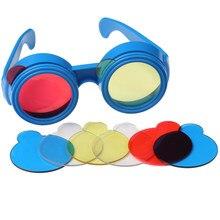 Kit de experimento de ciência infantil, brinquedo educativo de física e ciências, brinquedo diy, exploração de três cores primárias, brinquedos para criança