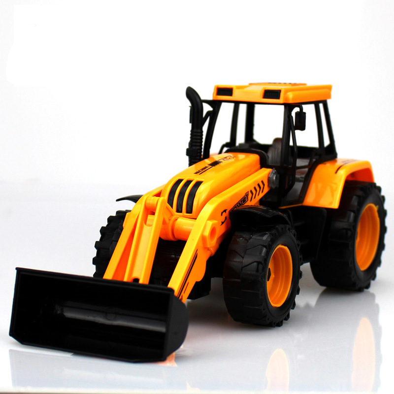 New Pull Back Engineering car forklift vehicles Building tractor shovel car kids toys Beach toys truck excavator bulldozer toys