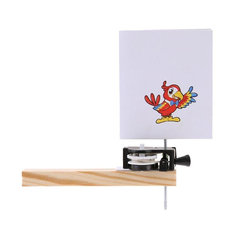 1 Paket Caged Vogel, Der Diy Handwerk Material Kinder Wissenschaft Technologie Bildung Modle Spielzeug Equippment