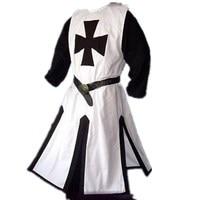 2018 Medieval Tunic Split Stitching Mens Trench Coat Long Hooded Overcoat Jackets for Men Windbreaker Harujuku Mens Gothic