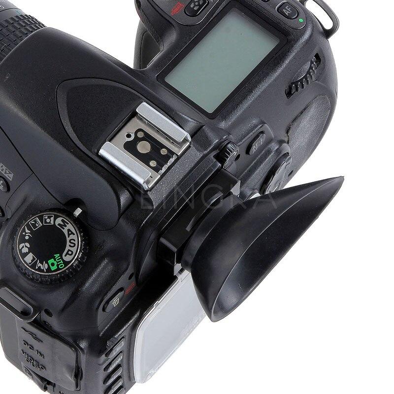 Caméra Œilleton Caoutchouc Oculaire 22mm Pour Nikon D300 D300S D200 D90 D80 D70S D60 D40 D40X DSLR Accessoires