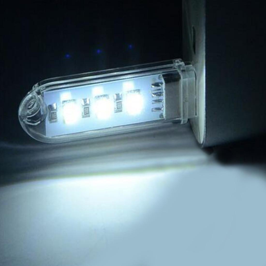 1 шт. мини USB Светодиодная лампа для книг Luz del libro 3 светодиода DC 5 В для ПК ноутбуков компьютера ноутбука Power Bank лампа для кемпинга лампа для чте...