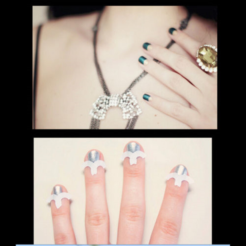 New Arrival French Manicure Nail Art Tips Tape Sticker Guide Stencil ...