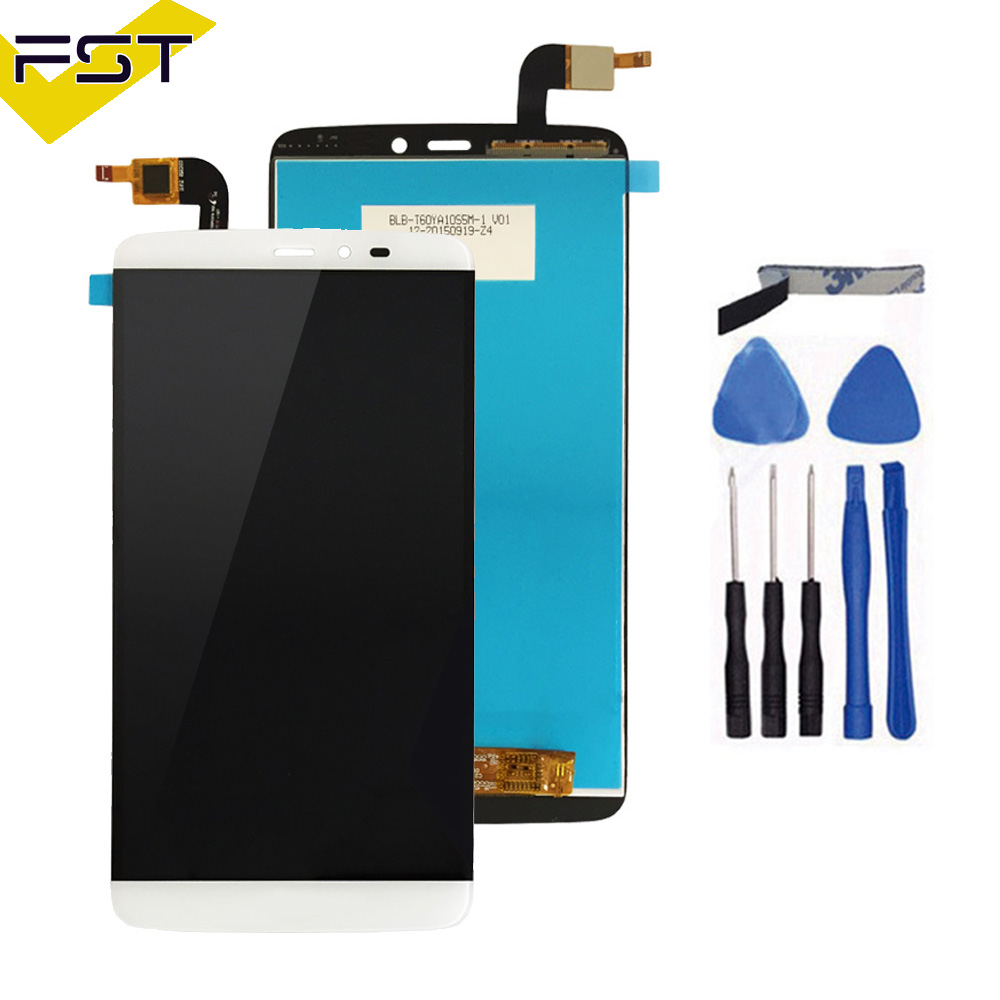 For PPTV King 7/7s LCD Display+Touch Screen 100% Tested Screen Digitizer Assembly For king 7s 6.0 inch Replacement+Free Tools