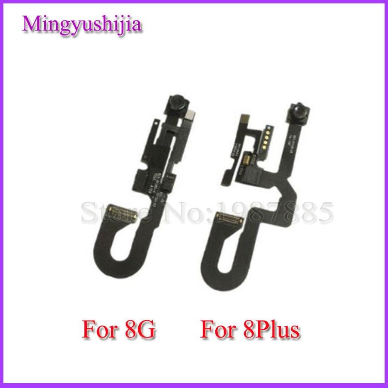 Mingyushijia 1pcs Small Front Camera for iPhone 8 8G plus Light Proximity Sensor Flex Cable Facing Module Replacement Parts
