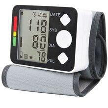 2016 monitor de presión arterial Digital Esfigmomanómetro Esfigmomanómetro Automático portátil mide cuidado de la salud