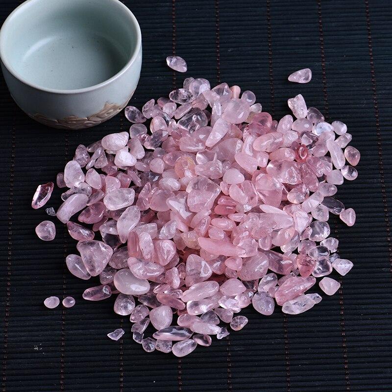50g natuurlijke rozenkwarts witte crystal mini rock minerale specimen healing kan worden gebruikt voor aquarium stenen woondecoratie ambachten