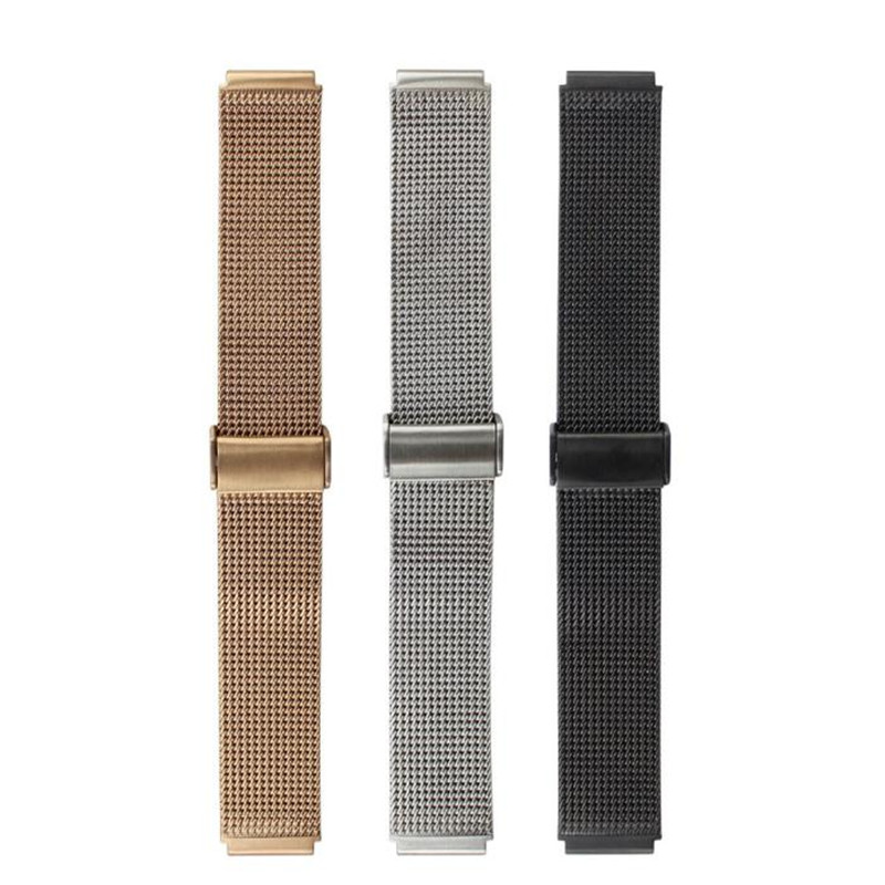 New Arrival 18mm High Quality Stainless Steel Mesh Replacement Watch Band For Huawei Watch 42mm Watch Accessories Correa Reloj new 20mm buckle 18mm t91 watch band fits prs516 racing sprort watches accessories stainless steel band new arrival promotion