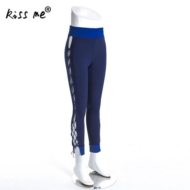 19a84bcdf01bc Sexy Women Hollow Drawstring Yoga Pants Super Stretchy Gym Tights High  Waist Sport Leggings Running Pants Outdoor Sportswear