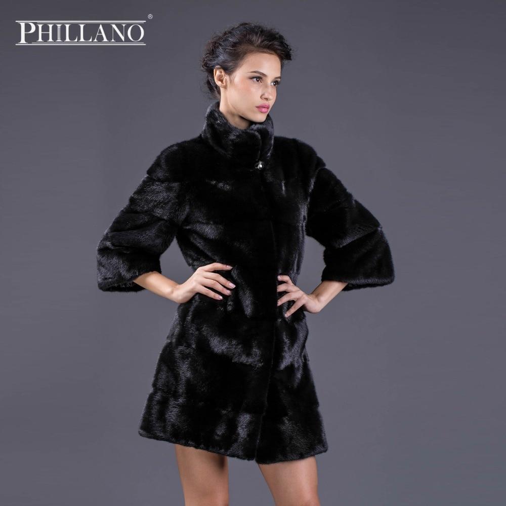 Fourrure Mandarin Chaud Pearl Col Véritable Jeunes black Perle Manteau De violet Femmes Phillano Cuir vente Best Mode Vison Manteaux nBnZ4qwz