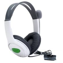 Fones de Ouvido estéreo Fones De Ouvido com microfones para o Console XBox 360 Branco