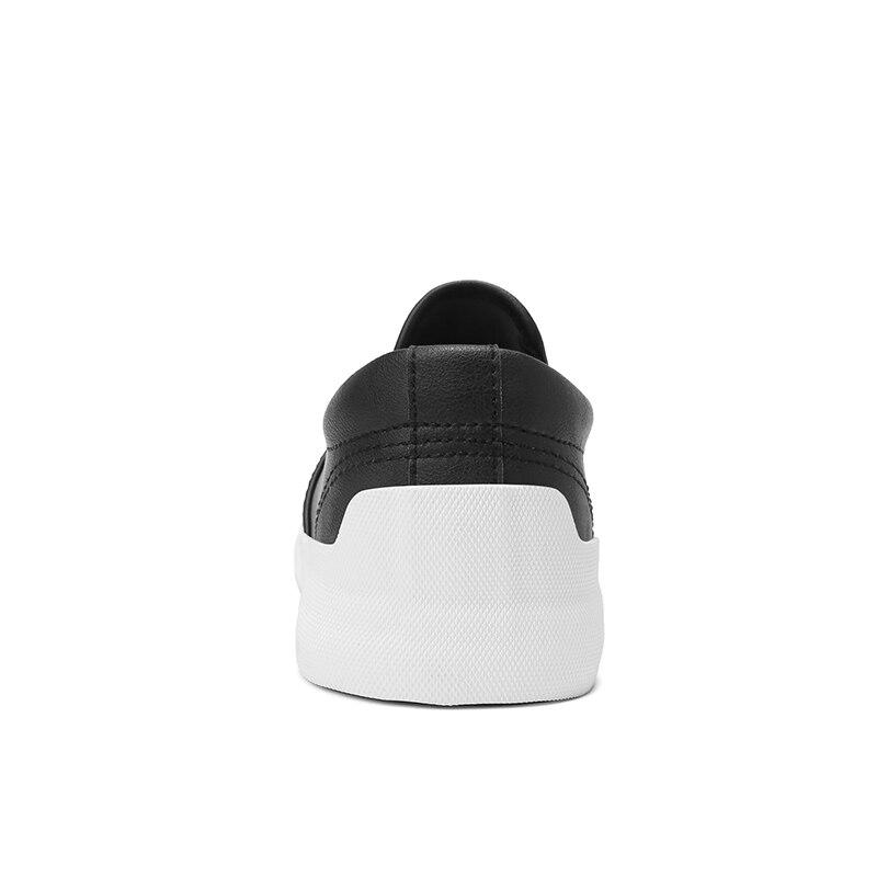 Automne Air Mode Occasionnels on Mâle Rouge Mocassins vin Confortable Noir Printemps Plein gris Homme Ngouxm Respirant Chaussures Hommes Cuir En Slip EwOxII