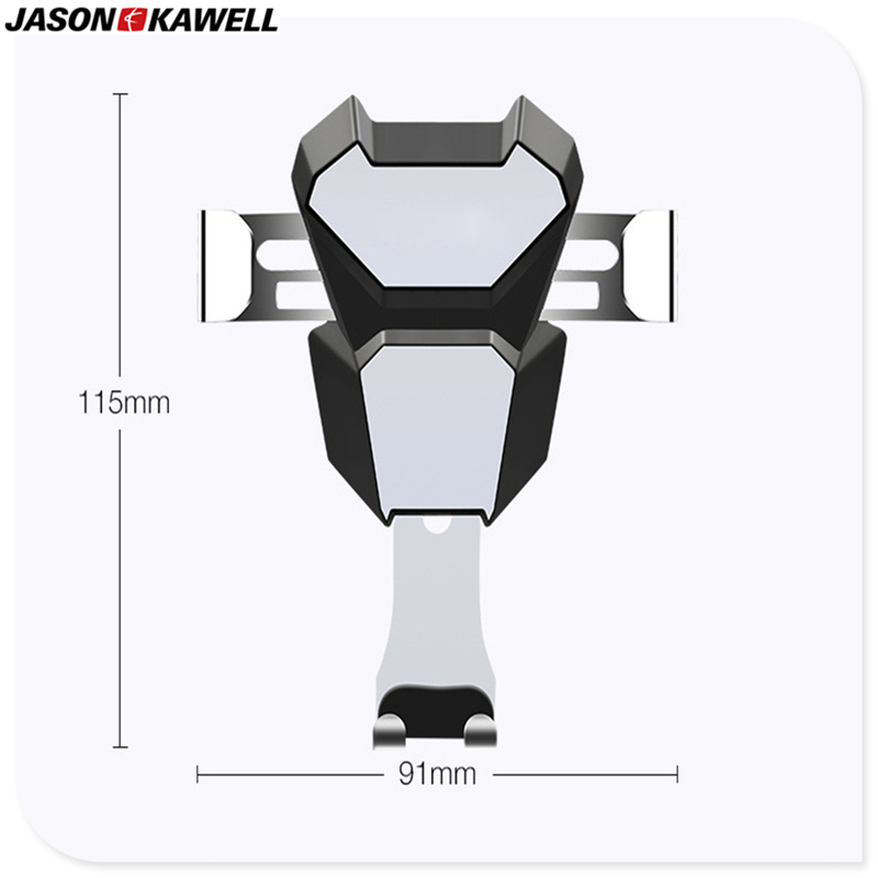 New Arrival Gravity Car Mobile Holder Stainless Steel <font><b>Clamp</b></font> Auto No Magnetic More Safety All <font><b>Phone</b></font> and Pad can use Free Shipping