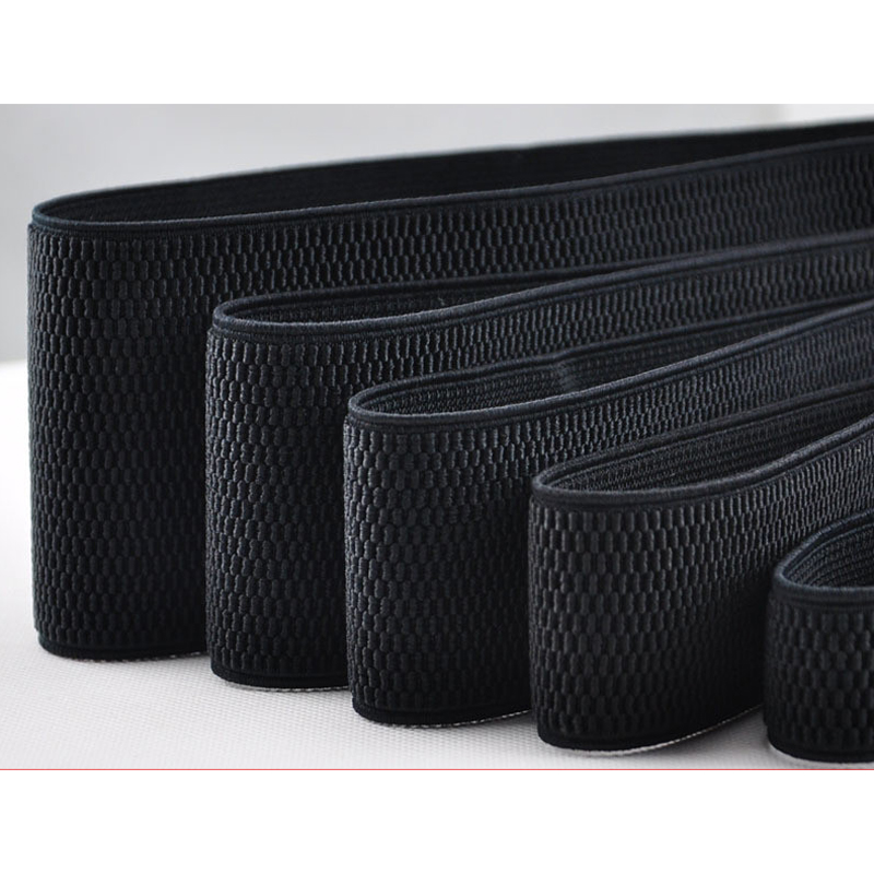 High Quality Black Waist Elastic Band / Elastic Belt 2-10cm / Sewing Clothing Accessories / Elastic Band / Rubber Band