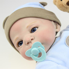 Wholesale 22 inch Collectible Reborn Baby Dolls Silicone Doll Handmade Realistic Lifelike Babies Born Toys So Cute Fake Baby Boy