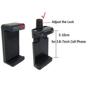 Image 5 - Uchwyt na pasek na zewnątrz głowy do telefonu komórkowego w uprzęży pasek do montażu na pasku statyw zacisk mocujący zamiast GOPRO xiaoyi Camera iPhone 6