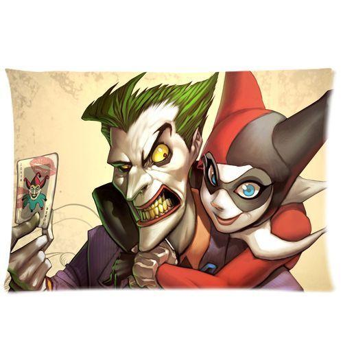 Us 1299 Heiße Neue Design Harley Quinn Batman Joker Druck Kissenbezug Benutzerdefinierte Kissenbezug Dekorative Batman Kissenbezüge Bettwäsche