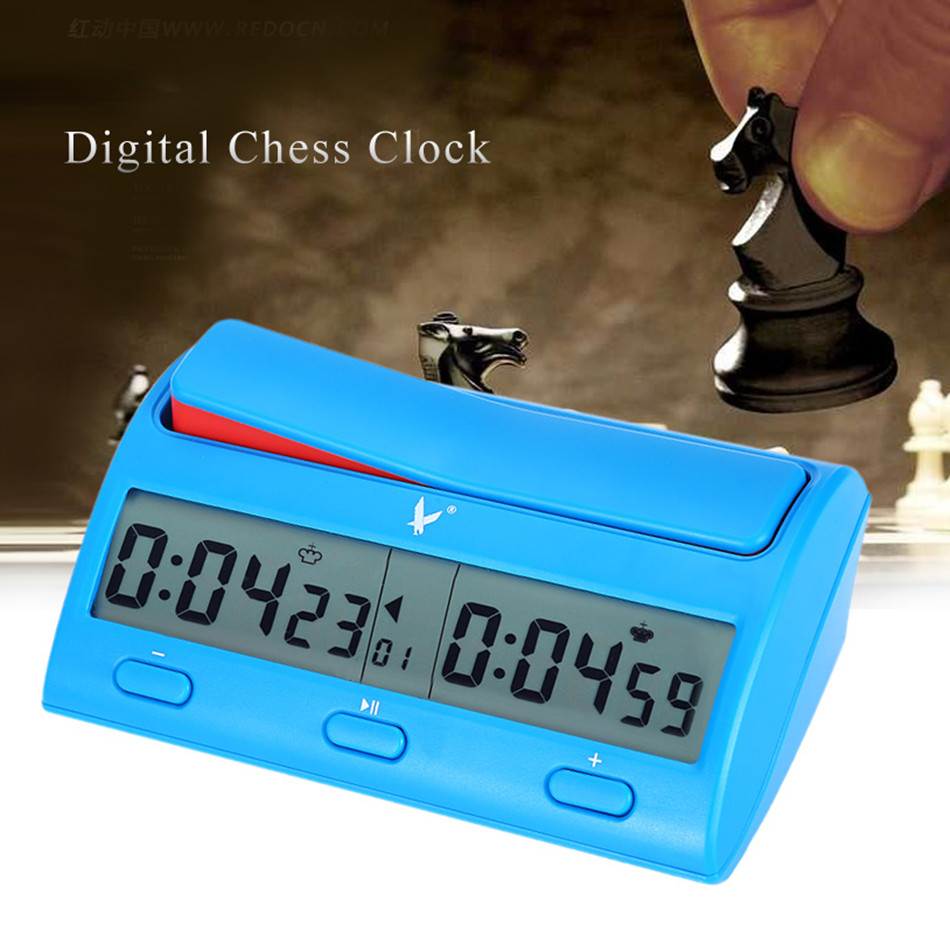 цена на PQ9912 Multifuctional Professional Digital Chess Clock Count Down Timer Novelty Practical Game Competition Count Up Player