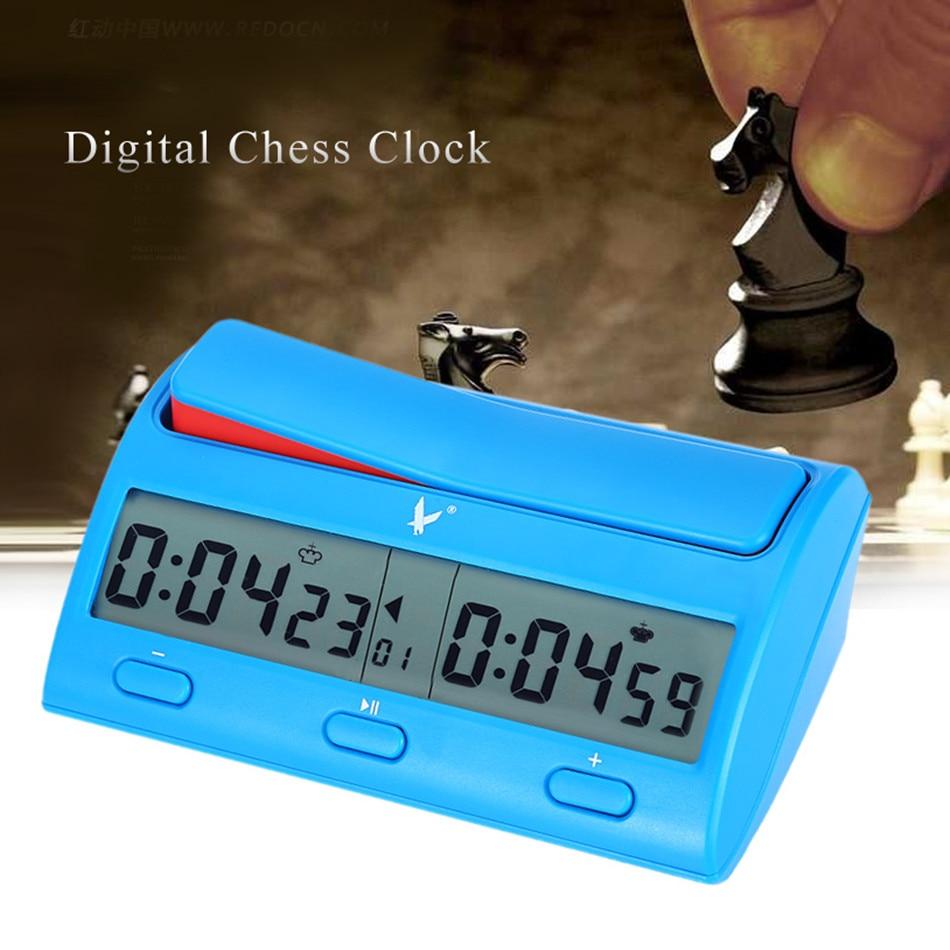 PQ9912 multifonctionnel professionnel horloge d'échecs numérique compte à rebours nouveauté jeu pratique compétition compte à rebours joueur