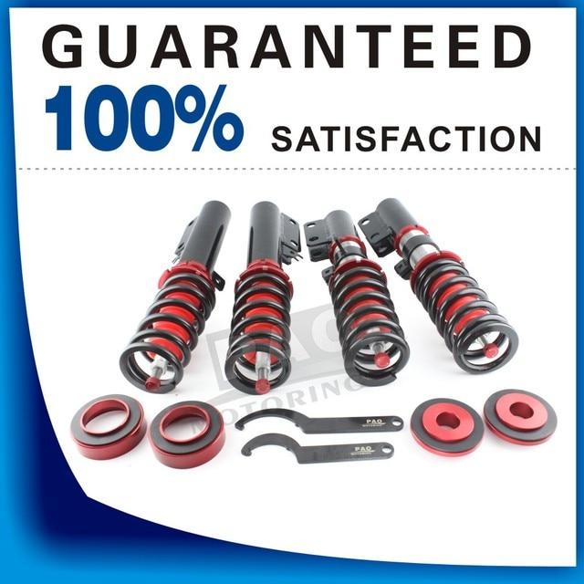 PAO MOTORING Coilover Spring Shock Absorber For Toyota Camry 2007-2011 36 Ways Adjustable Damper Suspension Strut coil