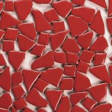 Kepinfy 200 г/28 шт./упак. нерегулярные Керамика мозаики в мозаика решений для снаружи и внутри DIY украшения