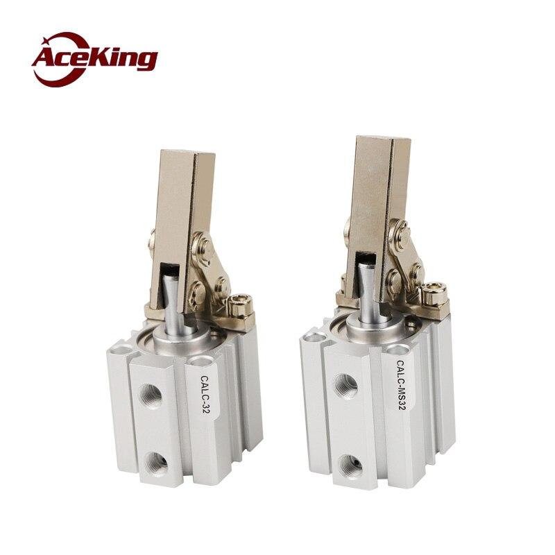 Alavanca do cilindro calc-ms25/32/40/50/63/80/100-s1s2 menor pressão do cilindro com magnético rocker braço CALC-MS25 CALC-MS32 CALC-MS40