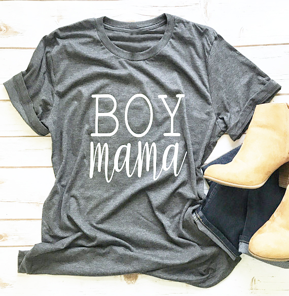 US $7 82 15% OFF|Boy Mama Hipster Cotton T Shirt Summe High Quality Gray  Clothing Top 90s Unisex Trendy Grunge Tee Popular Slogan shirt Drop Ship-in