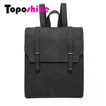 Toposhine 2016 HOT New Designed Brand Cool Urban Backpack Double Arrow Women Backpack Quality Fashion Girls School Bag 1592(China)